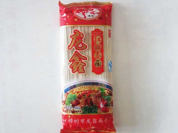 龙鑫红双喜面450g